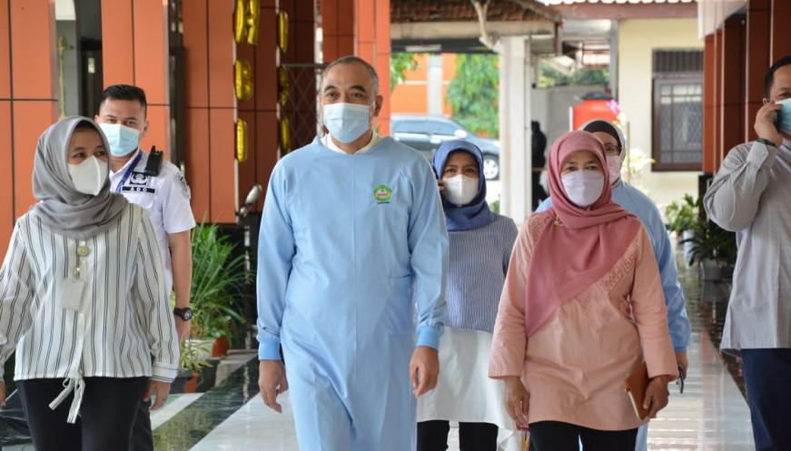 Cek Persiapan Idul Fitri Bupati Zaki Kunjungi RSUD Pakuhaji dan RSU Tangerang