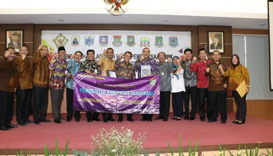 Pemkab Tangerang Raih WTP